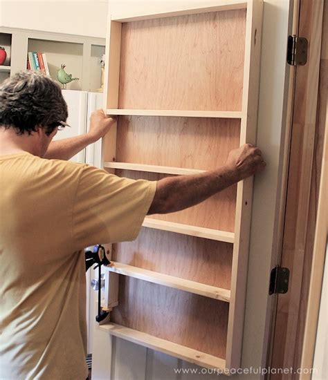 Build Your Own Pantry Shelves by Build A Beautiful And Affordable Pantry Door Organizer