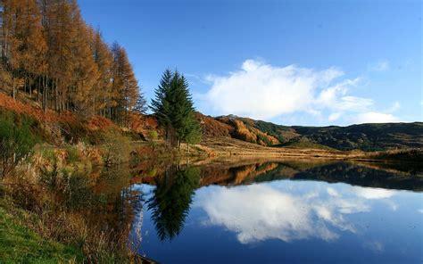 imagenes arboles otoño peaceful lake 193 rboles del oto 241 o fondos de pantalla