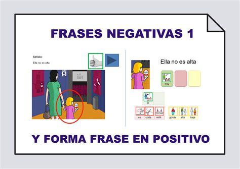 imagenes positivas y negativas frases positivas frases negativas comprensi 243 n y