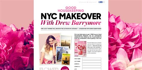 Good Housekeeping Sweepstakes - goodhousekeeping com drew goodhousekeeping com drew barrymore sweepstakes