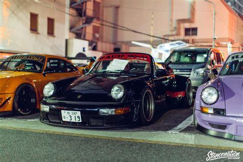 japan welt rwb porsche meet at roppongi japan stancenation