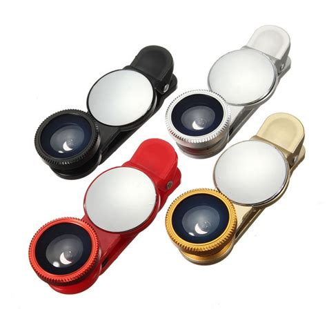 Bonia Savira 9265 6 3in1 other accessories universal 3 in1 wide angle macro fisheye lens with mirror for xiaomi