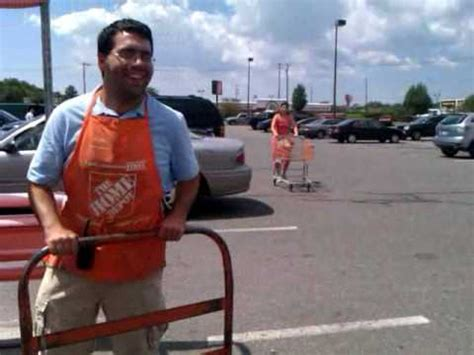 sebastain working at home depot