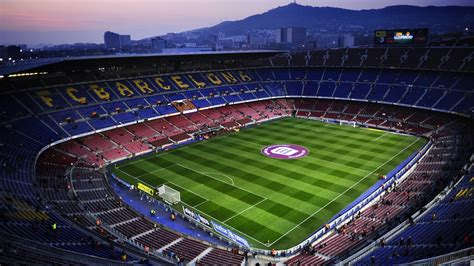 barcelona football c nou fc barcelona stadium hd wallpaper download