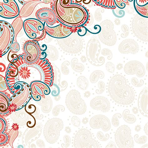 notebook santafe paisley with coral write it designs