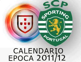 Calendario Sporting Jornada Data Hora