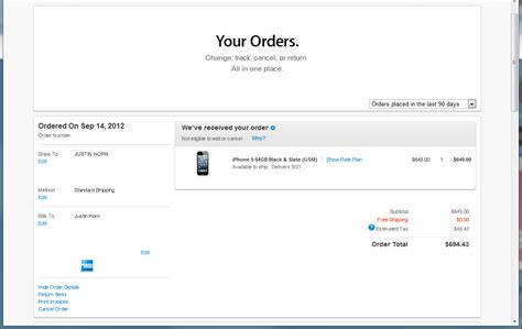 Adressaufkleber Bestellen by Ordering Iphone 5 How To Change The Shipping Address