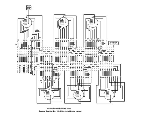 resistor decade values resistor decade box schematic plans gootee systems electronic