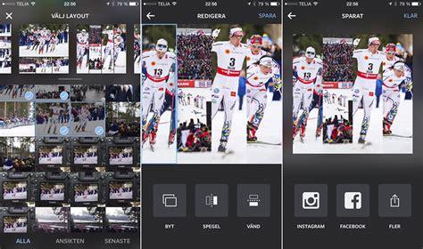 Instagram Skapa Layout | layout ny kollageapp fr 229 n instagram iphoneguiden se