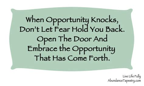 New Opportunities Knockingi Often Whethe by 60 Opportunity Quotes And Sayings