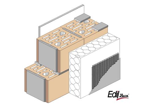 isolamento termico muri interni muratura sismica termoisolante in argilla espansa bioclima
