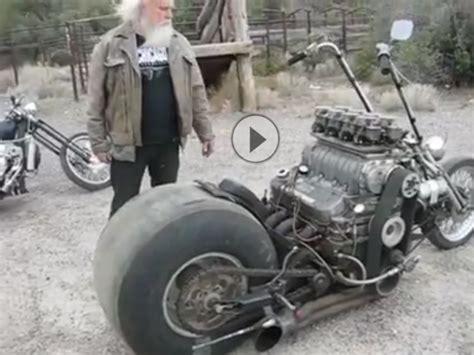 Bmw V8 Motorrad by V8 Motorrad Sidewinder 427 Minimalistisch Vollgas Damit