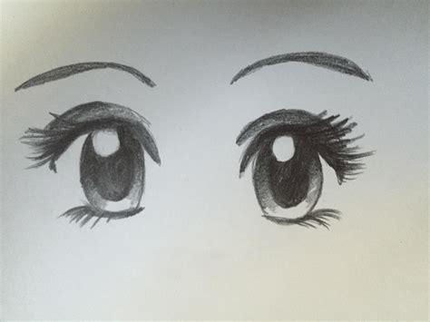 anime eyes that are easy to draw how to draw manga eyes steemit