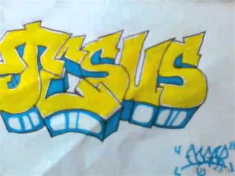 imagenes de jesus graffiti graffiti no papel quot deus jesus quot youtube