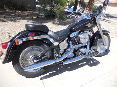 98 Harley Davidson by Harley 98 Softail Fatboy Evolution One Owner Completely