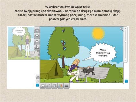 layout komiksu tworzenie komiksu w programie pixton
