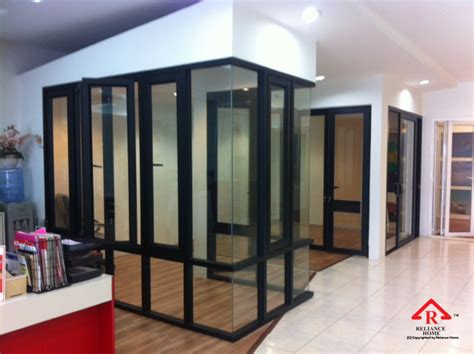 glass partition walls for home aluminium glass partition reliance homereliance home