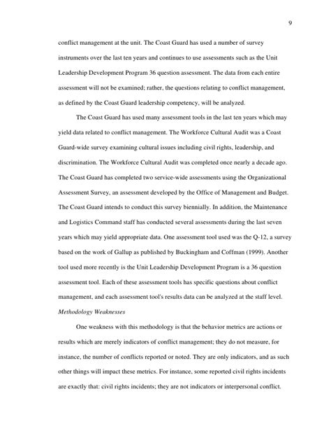 Conflict Resolution Dissertation by Conflict Resolution Dissertation