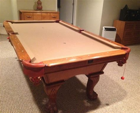 kasson billiards claw pool table for sale sold