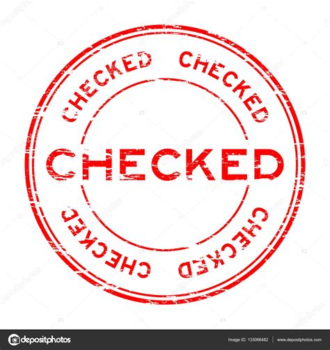 rubber st software free grunge checked rubber st stock vector