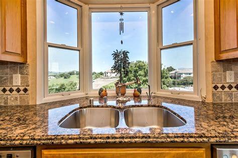 decorate ideas for kitchen bay window