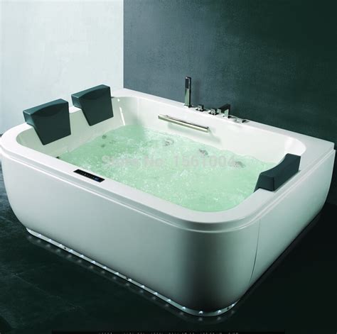 heated jacuzzi bathtub hot adult bathtub spa air bubble bathtub with digital