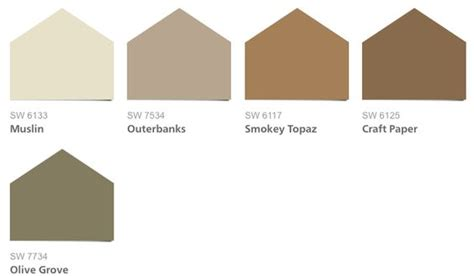 sherwin williams 7103 sherwin williams color palette rustic colors and rustic