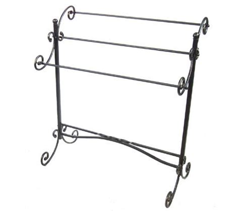 Wrought Iron Quilt Rack by Wrought Iron Quilt Rack Qvc