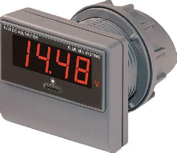 boatstoreusa free shipping blue sea systems 8235 dc digital voltmeter ebay