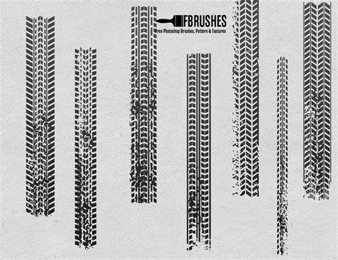 tire pattern brush tires brushes fbrushes