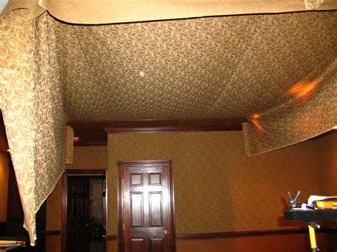 Cloth Ceiling Basement by Inspiring Idea Basement Ceiling Fabric Unfinished