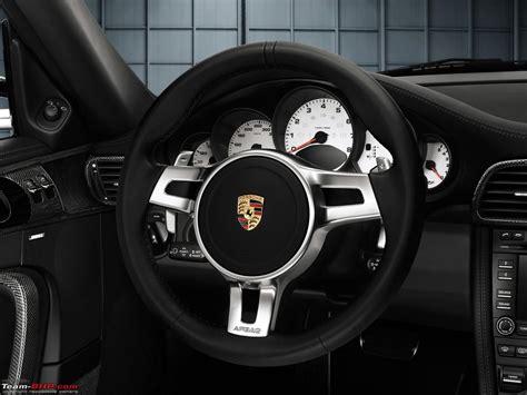 porsche 997 steering wheel porsche 911 turbo pdk paddle shift installed team bhp