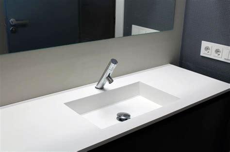lavabo corian foto lavabo de corian de espacios y proyectos 316620