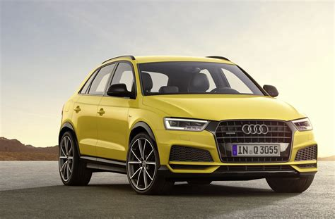 Audi Q3 S Line 2020 by 2017 Audi Q3 Update Introduces S Line Package