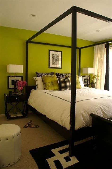 Bedroom Ideas Black White And Green Green Interior Ideas For Your Home