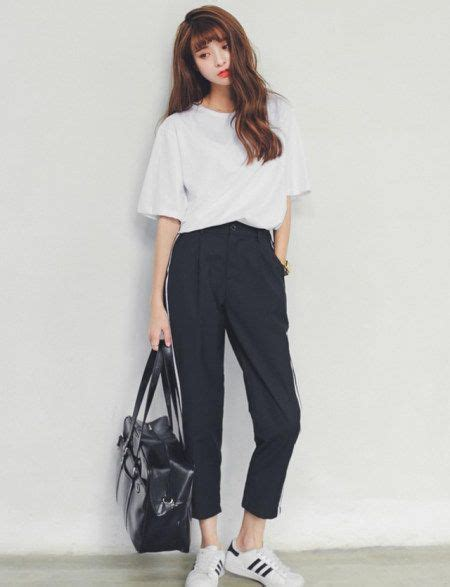 Korean Style casual korean fashion and fit on