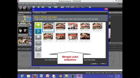tutorial membuat video menggunakan ulead tutorial cara membuat slideshow photo dan video dengan