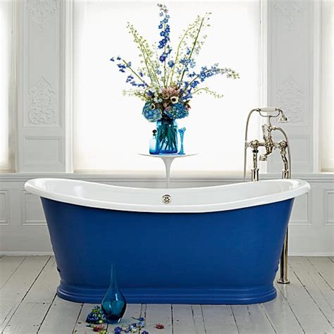 blue tub bathroom a bright and beautiful bath country bathrooms 10 new