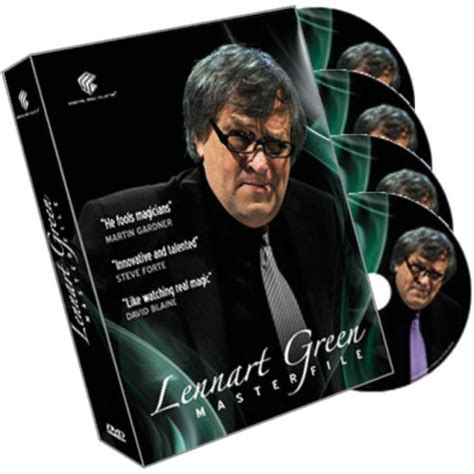Lennart Green Master File 4 Dvd Set Dvd Magic Tutorial Sulap stemaro magic zaubershop lennart green masterfile