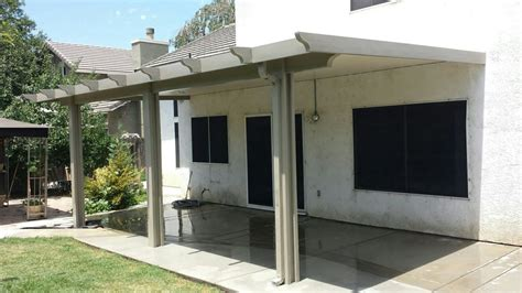 aluminum patio cover kits solid roof style
