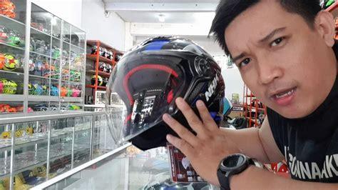 Helm Nhk Kualitas Terbaik Helm Nhk R1 Visor Solid White Half helm gladiator indy kaca teknology terbaru anti impact