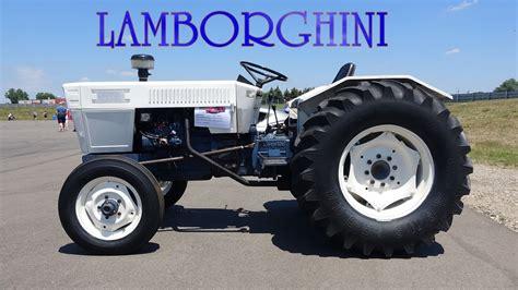 lamborghini tractor lamborghini tractor driving around