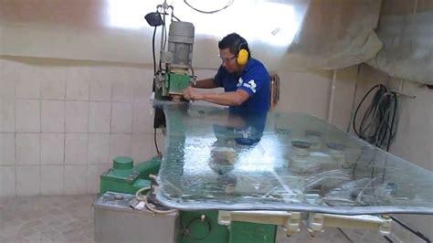 pulir vidrio biseladora de vidrio canteadora pulido de formas