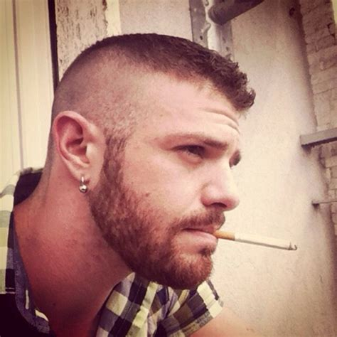 shaved recon haircut high and tight recon that could grow into an undercut