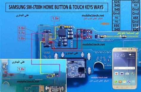 samsung galaxy  jh home key button  working