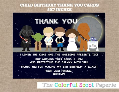 printable star wars thank you notes star wars thank you cards star wars thank you notes star