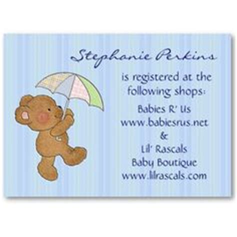 baby registry announcement cards template 1000 images about baby shower on baby blocks