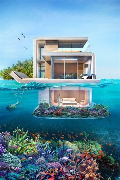 incredible future houses underwater bedroom floating