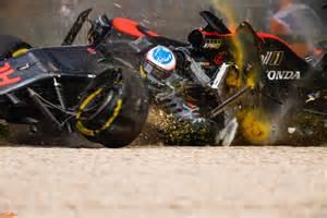 Formula 1 Fernando Alonso Blink Of An Eye Nikon D5 The Crash F1 Australian Grand