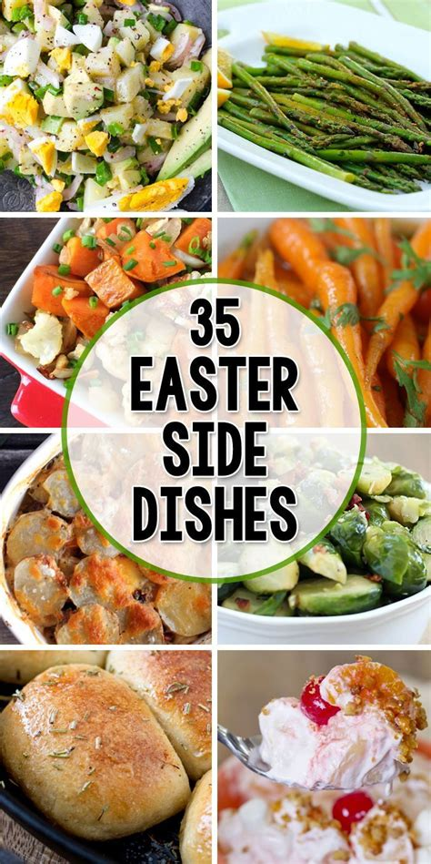 Easter Side Dishes | 35 side dishes for easter dishes and easter